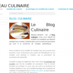 Blog cuisine france